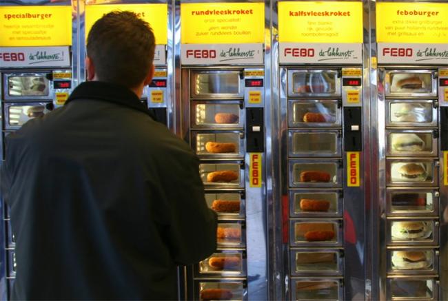 11 điểm đến để chiêm ngưỡng những chiếc máy bán hàng tự động độc đáo - 4
