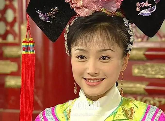 Tần Lam trẻ măng trong vai Tri Họa của Hoàn Châu cách cách 3.