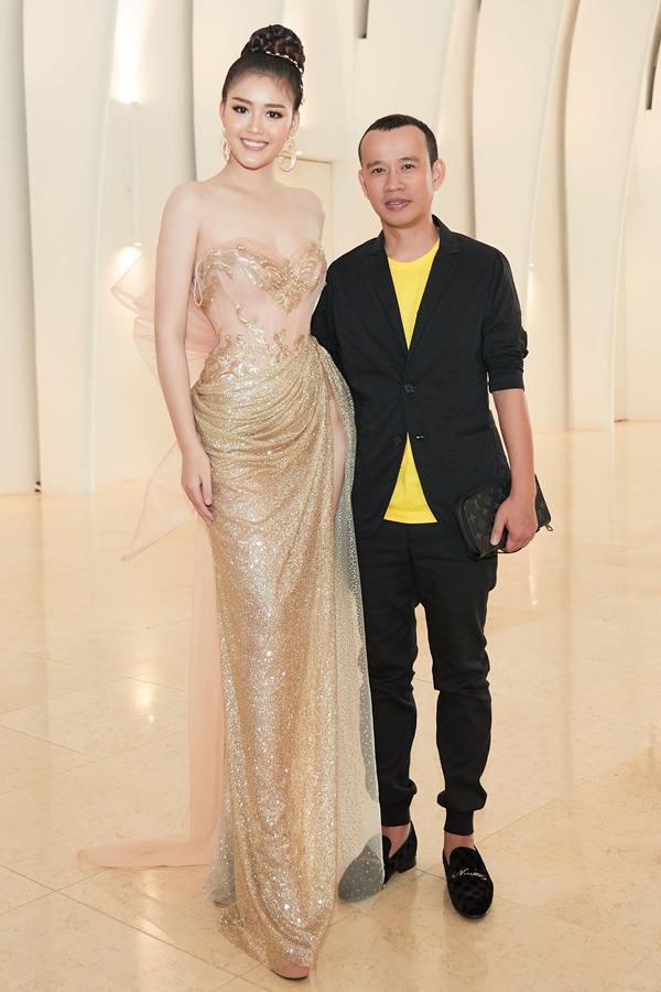 Hoa hậu Đàm Lưu Ly khoe nhan sắc tuổi 46 ở sự kiện - 9