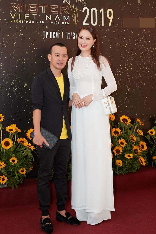 Hoa hậu Đàm Lưu Ly khoe nhan sắc tuổi 46 ở sự kiện - 1