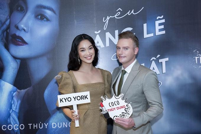 HHen Niê, Vy Oanh gợi cảm đến chúc mừng Kyo York - 4
