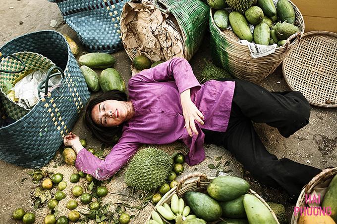 Cảnh quay trong khu chợ tiêu tốn vài trăm triệu một ngày khi Ngô Thanh Vân bị thương.