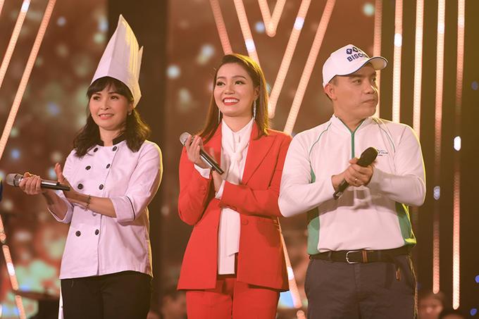 Trước câu hỏi sẽ chọn nghề gì nếu không theo nghệ thuật, ca sĩ Trang Nhung ước mơ trở thành đầu bếp, Nguyễn Ngọc Anh muốn làm biên tập viên của Đài truyền hình Quảng Ninh, riêng Tô Minh Thắngmong làm nhân viên sân solf.