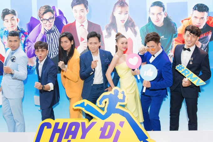 Trấn Thành 'tố' Lan Ngọc trong họp báo phát sóng chương trình 'Chạy đi chờ chi'