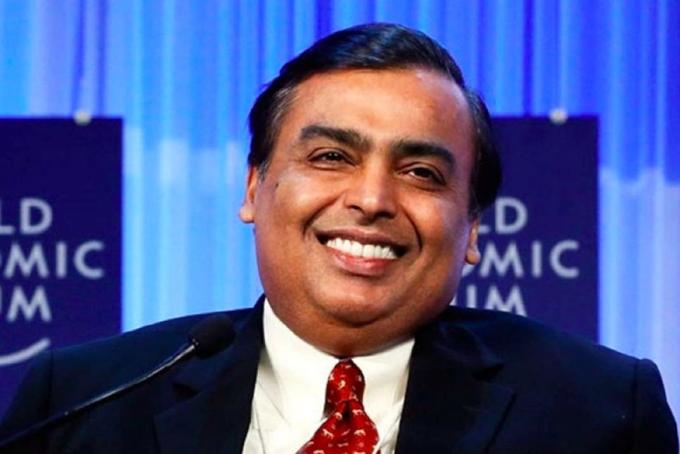 Mukesh Ambani, tỷ phú giàu nhất châu Á. Ảnh: Bloomberg.