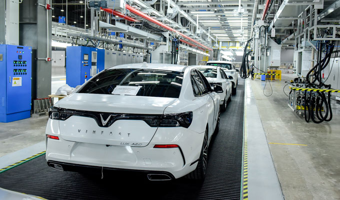 VinFast đưa 155 xe đi nước ngoài để thử nghiệm - 1
