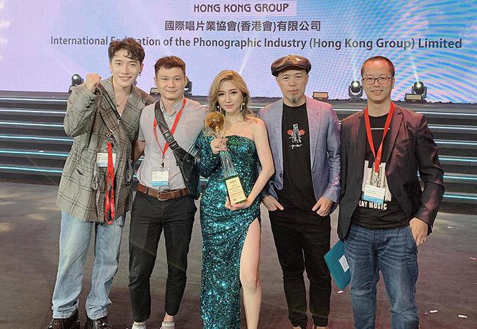 Ca sĩ Orange giành giải Siêu sao châu Á tại Hong Kong Asian Pop Music - 1
