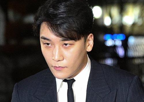 Nam diễn viên Seungri.