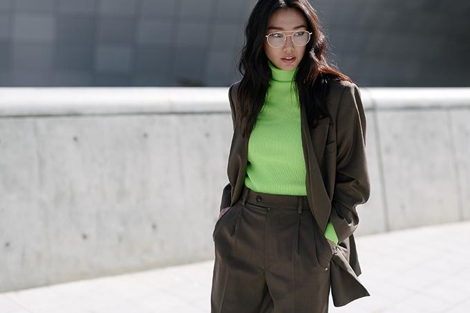 Màu neol trở lại xu hướng mới nhờ sự lăng xê nhiệt tình của các tín đồ thời trang châu Á.