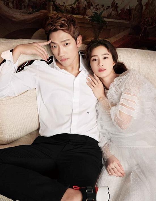 Bi Rain là ca sĩ, diễn viên nổi tiếng tại Hàn Quốc. Anh được sở hữu ngoại hình điểm trai, nam tính, chiều cao lý tưởng và giọng hát trầm ấm cưa đổ nhiều fan nữ. Đầu năm 2017, đám cưới của nam ca sĩ cùng với nữ diễn viên đình đám Kim Tae Hee diễn ra giản dị tại nhà thờ Công giáo Seoul với sự góp mặt của hai bên gia đình và bạn bè thân thiết. Tuy nổi tiếng đào hoa, được nhiều bóng hồng theo đuổi nhưng sau khi kết hôn Bi Rain được khán giả gắn mác nghiện vợvì những cử chỉ lãng mạn, ngọt ngào dành cho bà xã. Trong buổi chụp hình chung sau khi cưới, nam ca sĩ liên tục dành những lời lẽ có cánh cho Tae Hee và dí dỏm đùa rằng chói mắt khi nhìn vợ. Anh cũng từng sáng tác riêng một bài hát có tựa đề The Best Present để dành tặng mỹ nhân họ Kim. Hiện tại, Bi Rain chia sẻ, gia đình anh sắp có thêm thành viên mới sau khi Kim Tae Hee sinh bé gái đầu lòng vào năm 2017.
