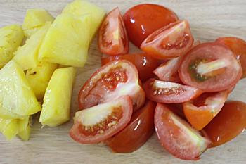 Cà chua thái làm 4