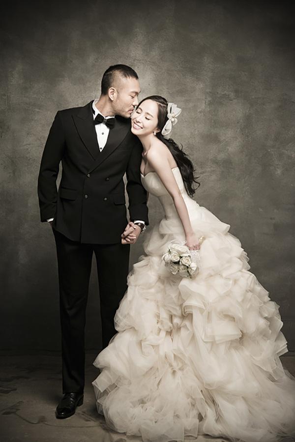 Ảnh cưới của Quỳnh Nga và Doãn Tuấn.