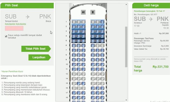 Check in online giúp bạn chọn được chỗ ngồi theo mong muốn.