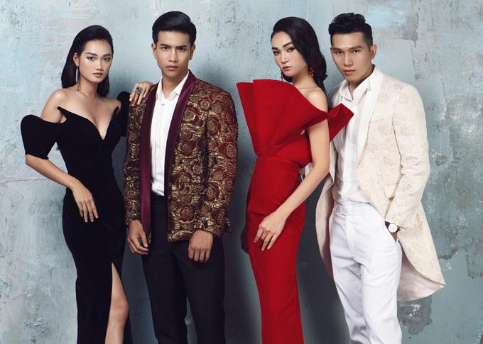 Photo: Trần Hoàng Vũ. Stylist: Nguyễn Đức Thạnh. Make-up: Eric Nguyễn, Nguyễn Chánh Tín, Đỗ Hiếu.