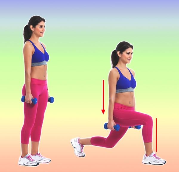 Động tác lunges