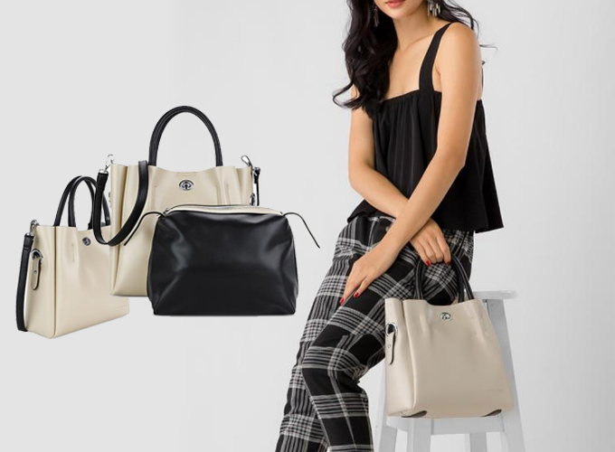 Túi cỡ lớn tạo nhiều dư địa cho các nhà thiết kế để tạo nên nhiều phong cách khác nhau, từtrẻ trung, năng động...