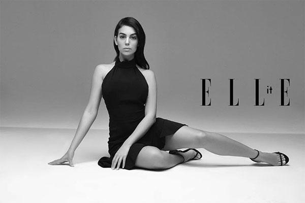 Georgina Rodriguez hé lộ cuộc phỏng vấn với Elle bằng bức ảnh trên trang cá nhân hôm 3/5.