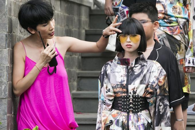 Bản sao Hồ Ngọc Hà, con gái Xuân Lan gây chú ý khi catwalk - 10