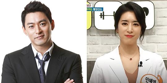 Joo Jin Mo và bà xã bác sĩ.