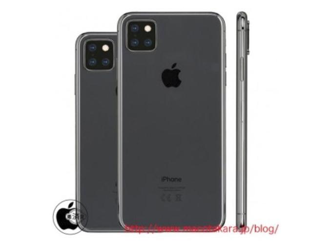 iPhone 2019 siêu mỏng, ba camera sau