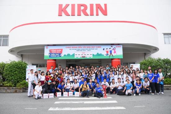 Kirin ngày càng khẳng địnhtên tuổi trong ngành thực phẩm nói chung và nước giải khát nói riêng tại Việt Nam.