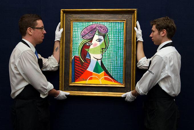 Anh em nhà Wertheimer cũng có sở thích sưu tầm các tác phẩm nghệ thuật nổi tiếng như các tỷ phú thuộc tầng lớp quý tộc Pháp. Trong ảnh là một tác phẩm giá trịcủa danh họa Picasso do anh em nhà Wertheimer sở hữu.