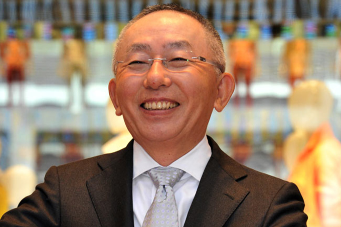 Ông Tadashi Yanai xếp thứ 41 trong danh sách tỷ phú thế giới 2019. Ảnh: Asia Society.