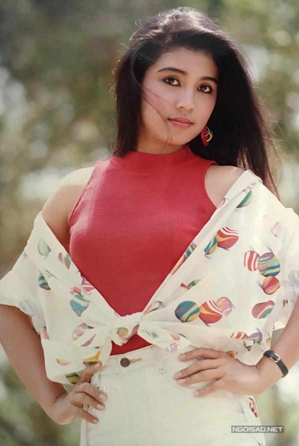 Vua ảnh lịch tiết ɭộ ảnh Việt Trinh thập niên 90 - 9