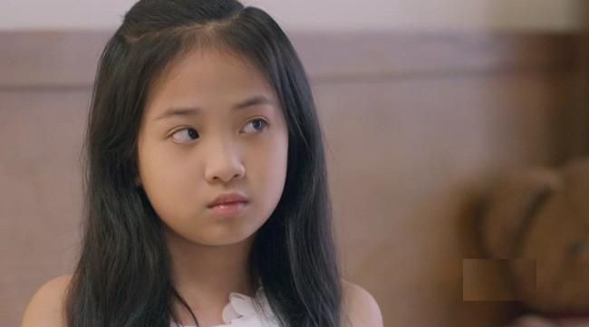 Diễn viên nhí Hà Anh trong vai Trâm Anh của Những cô gái trong thành phố.