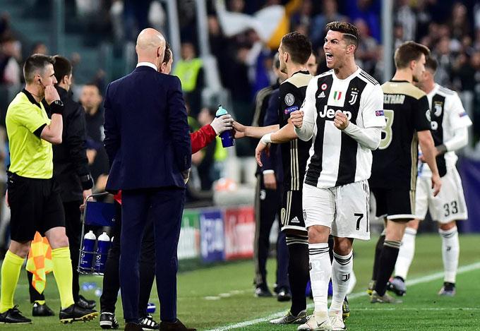 Juventus bước vào trận tứ kết lượt về Champions League với lợi thế trận hòa 1-1 trên sân Ajax tuần trước.