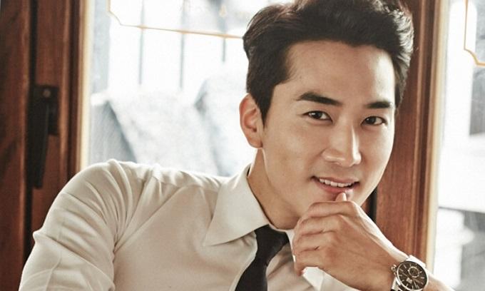 Tài tử Song Seung Hun.