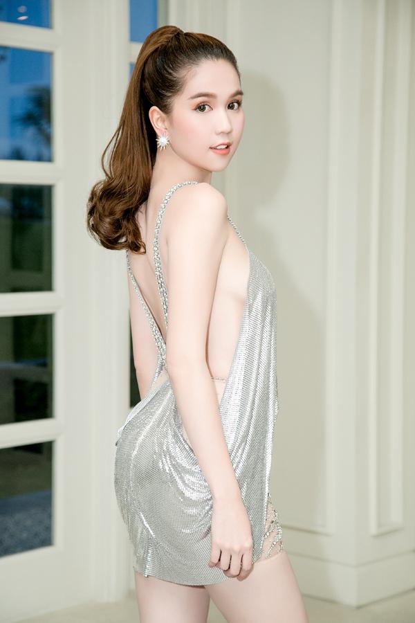 Ngọc Trinh tiết lộ sẽ chuẩn bị váy áo lộng lẫy dự sinh nhật 15 năm của Ngoisao.net.