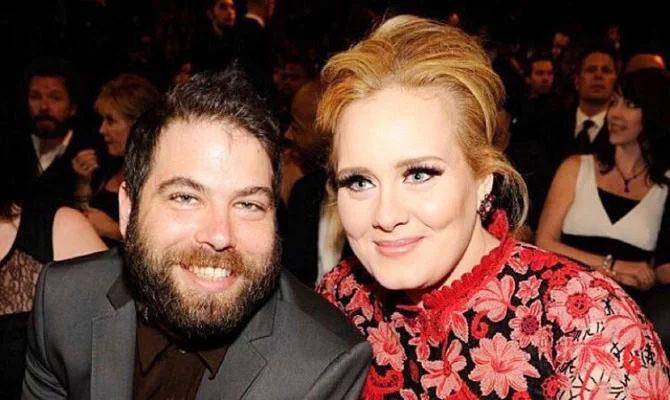 Adele và Simon Konecki.