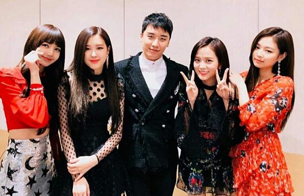 Black Pink từng rất thân thiết với đàn anh Seungri.