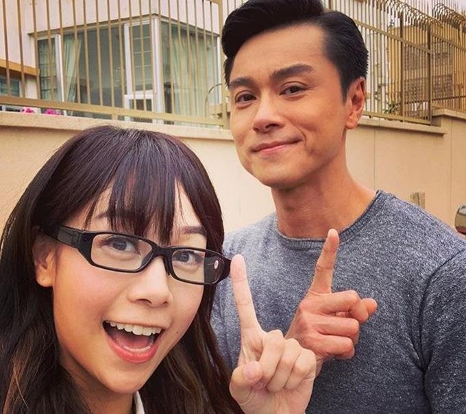 Hoàng Tâm Dĩnh và Huỳnh Hạo Nhiên vào vai cặp đôi phóng viên - chuyên gia pháp chứng.