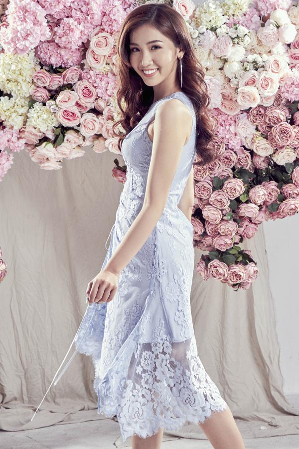 Đỗ Nhật Hà gợi ý chọn váy ren cho mùa hè - 2