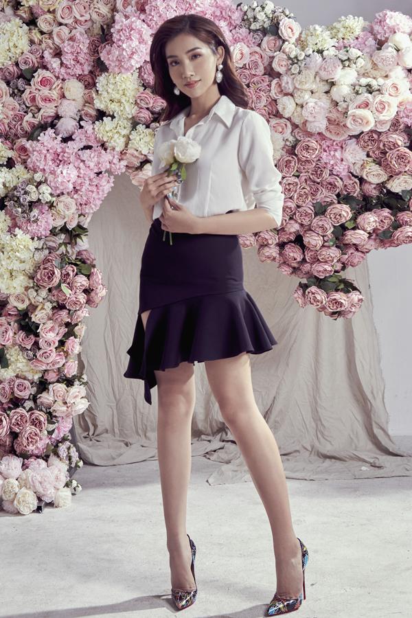 Đỗ Nhật Hà gợi ý chọn váy ren cho mùa hè - 7