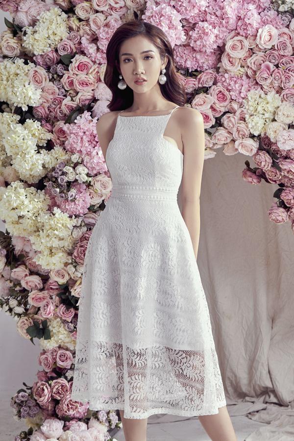 Đỗ Nhật Hà gợi ý chọn váy ren cho mùa hè - 8
