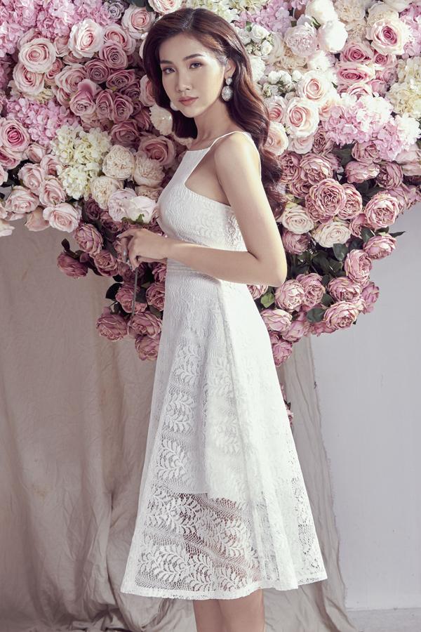 Đỗ Nhật Hà gợi ý chọn váy ren cho mùa hè - 9