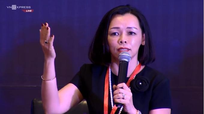 Nguyễn Thị Bạch Điệp - người được mệnh danh là nữ tướng FPT Retail.