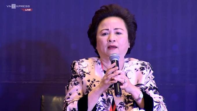 Chủ tịch BRG Group Nguyễn Thị Nga cho rằng đang thiếu mạng lưới kết nội nữ doanh nhân tại Việt Nam.