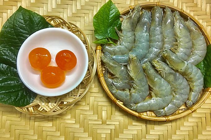 Tôm sốt trứng muối - 1