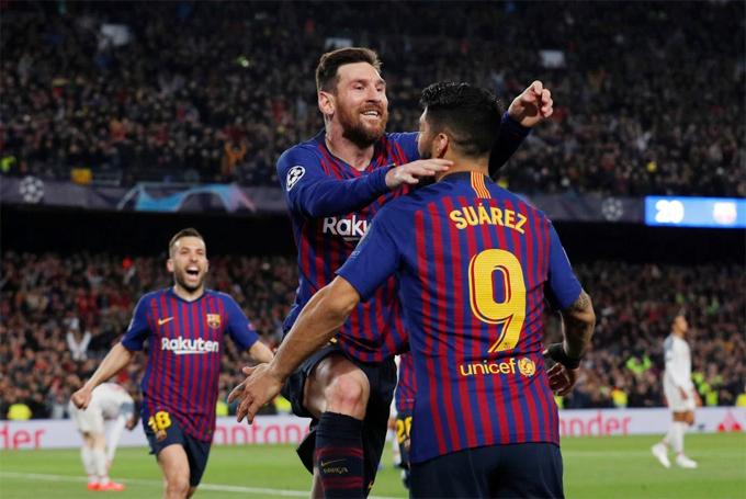 Messi và Suarez là những người lập công trong trận thắng 3-0 của Barca trước Liverpool