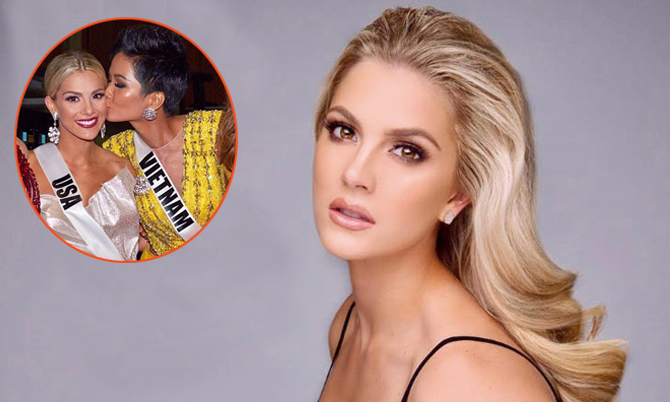Hoa hậu Mỹ từng suy sụp vì 'vạ miệng' chê tiếng Anh của H'Hen Niê