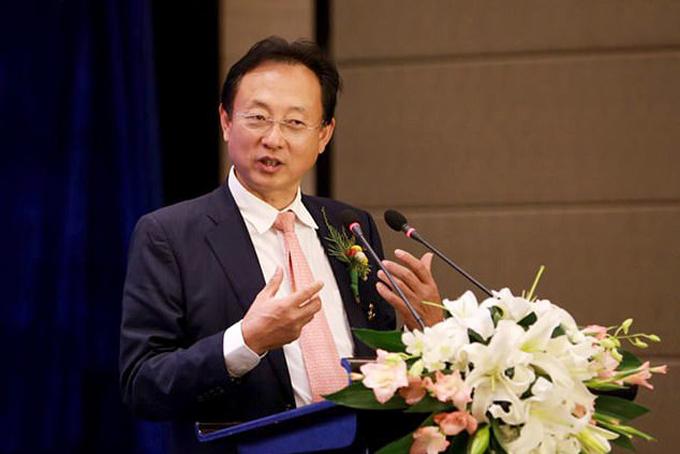 Tao Zhao - nhà sáng đồng sáng lập kiêm chủ tịch công ty dược phẩm Shandong Buchang. Ảnh: Sino.