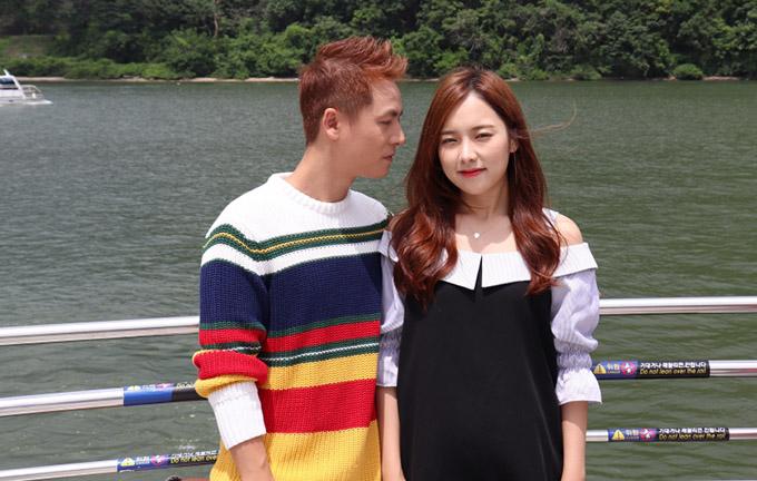 Vợ Đăng Khôi động viên chồng diễn tình tứ với người đẹp Hàn Quốc - 2