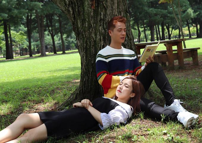 Vợ Đăng Khôi động viên chồng diễn tình tứ với người đẹp Hàn Quốc - 3