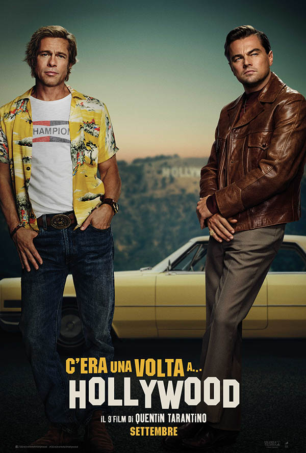 Poster phim Once Upon A Time In Hollywood.