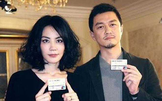 Vương Phi và Lý Á Bằng khi còn chung sống.