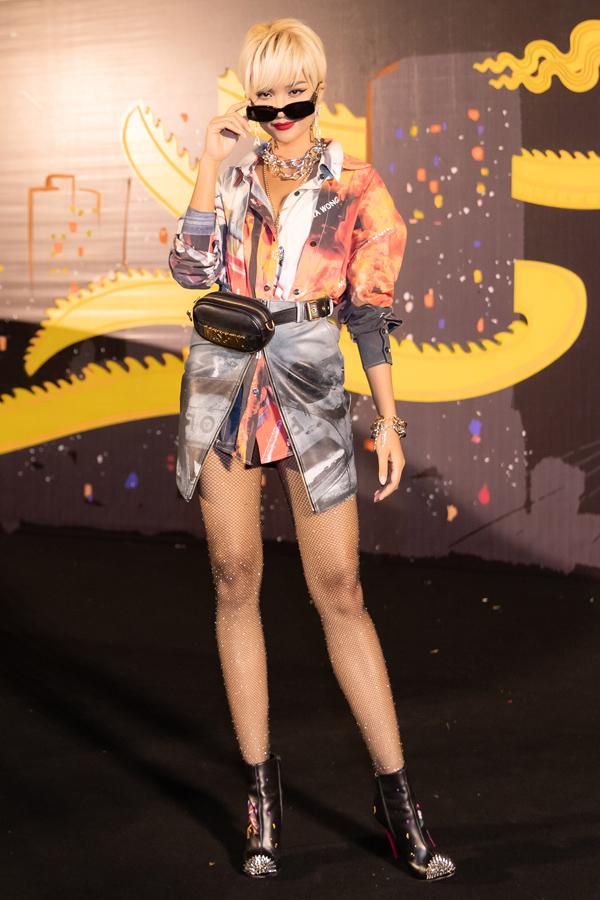 HHen Niê show thời trang tại Đà Nẵng tối 25-4